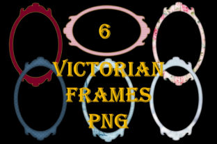 6 Victorian Frames Graphic By The Paper Princess