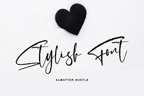 Download Free Almatter Hustle Font By Missinklab Creative Fabrica for Cricut Explore, Silhouette and other cutting machines.