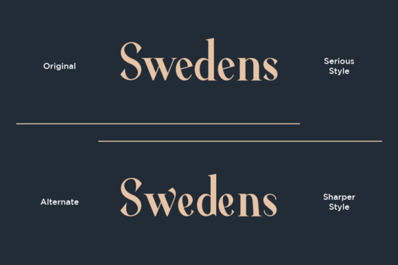 Print on Demand: Average Serif Font By dharmas - Image 4