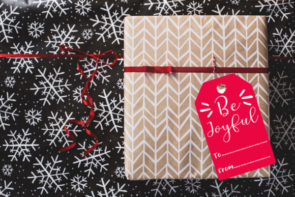 Christmas Gift Tags- Holiday Gift Tags Graphic Item