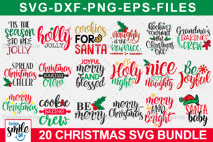 Christmas SVG Bundle Graphic By DesignSmile