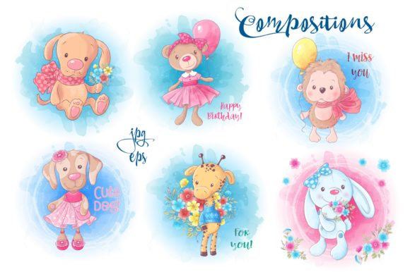 Download Free Cute Characters Vector Clip Art Graphic By Nicjulia Creative for Cricut Explore, Silhouette and other cutting machines.