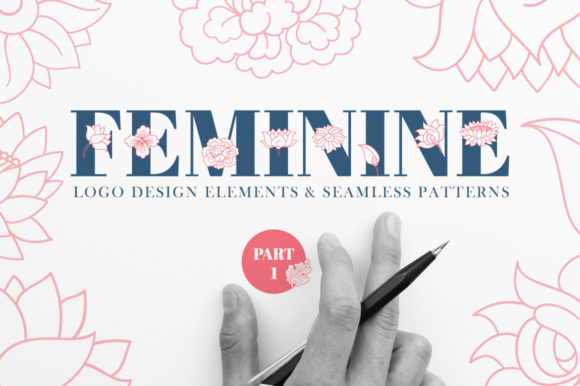 Print on Demand: Feminine Part 1 Graphic Patterns By annamagenta