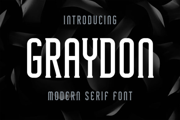 Print on Demand: Graydon Serif Font By Bangkit Setiadi