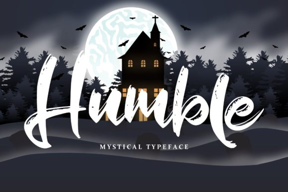 Print on Demand: Humble Script & Handwritten Font By Vunira