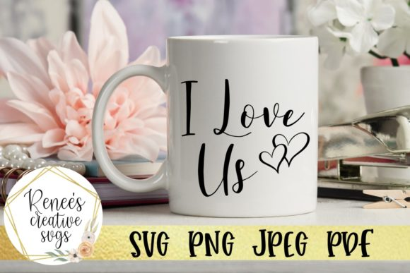 Download Free I Love Us Svg Cut File Graphic By Reneescreativesvgs Creative for Cricut Explore, Silhouette and other cutting machines.
