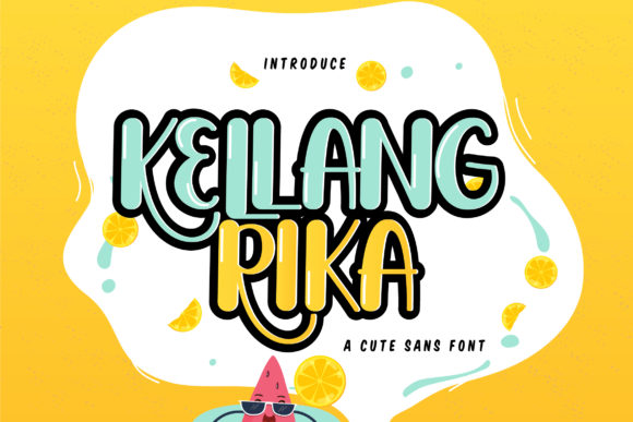 Print on Demand: Kellang Rika Script & Handwritten Font By Vunira