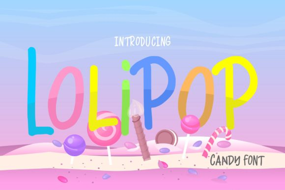Print on Demand: Lolipop Script & Handwritten Font By Vunira