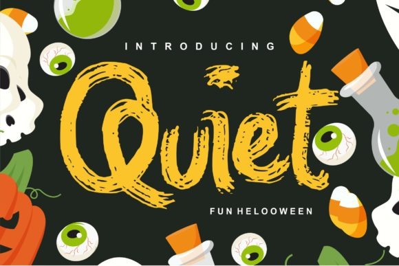 Print on Demand: Quiet Decorative Font By Vunira