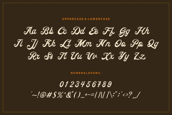 Print on Demand: Ricota Display Font By HansCo - Image 7