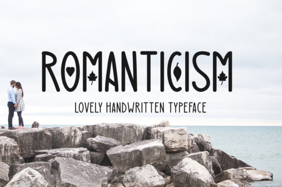Print on Demand: Romanticism Decorative Font By FontEden