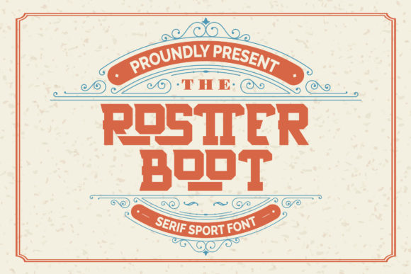 Print on Demand: Rostter Boot Serif Font By Vunira