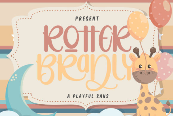 Print on Demand: Rotter Bradly Script & Handwritten Font By Vunira