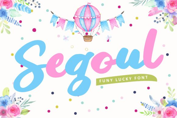 Print on Demand: Segoul Script & Handwritten Font By Vunira