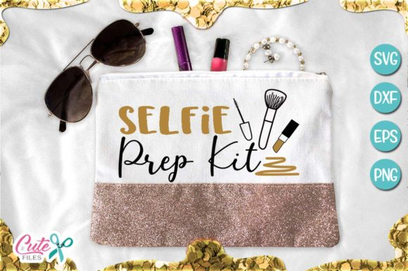 Selfie Prep Kit, Makeup Svg Graphic Illustrations By Cute files