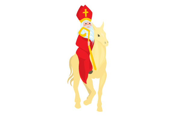 Download Free Sinterklaas On Horse Svg Cut File By Creative Fabrica Crafts for Cricut Explore, Silhouette and other cutting machines.