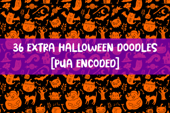 Print on Demand: Spooky Cat Display Font By Dreamink (7ntypes) - Image 2