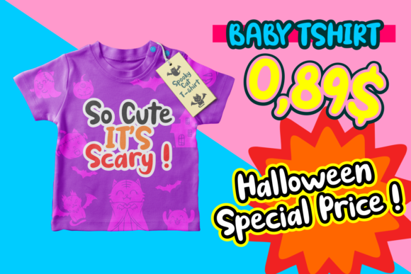 Print on Demand: Spooky Cat Display Font By Dreamink (7ntypes) - Image 5