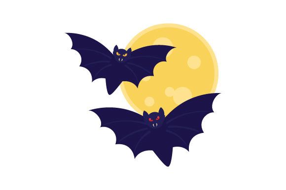 Spooky Bats Halloween Craft Cut File By Creative Fabrica Crafts