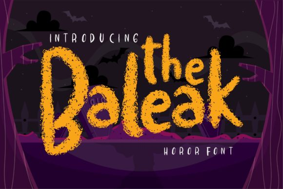 Print on Demand: The Baleak Decorative Font By Vunira