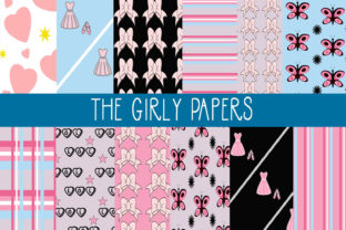 The Girly Papers Graphic By capeairforce