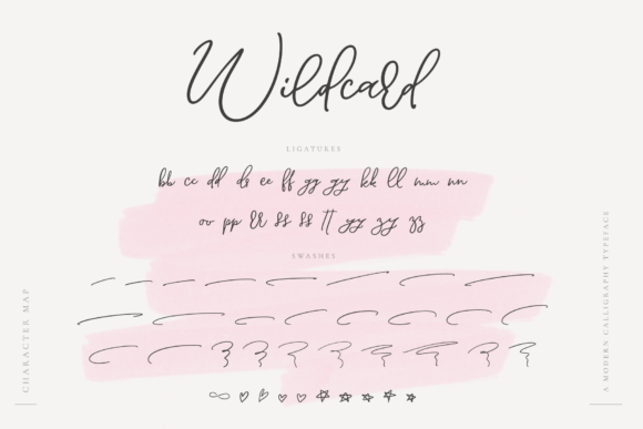 Print on Demand: Wildcard Script & Handwritten Font By Ayca Atalay - Image 13