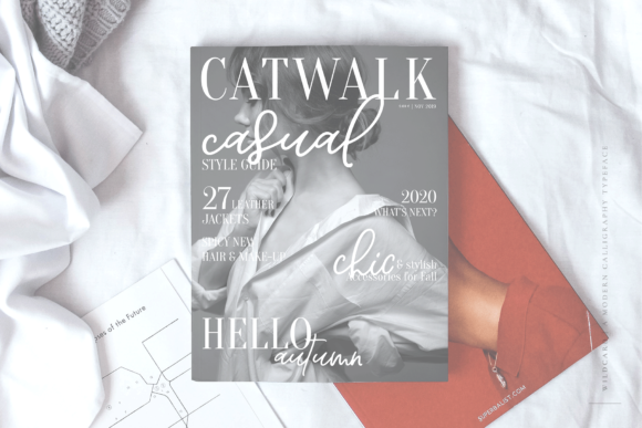 Print on Demand: Wildcard Script & Handwritten Font By Ayca Atalay - Image 6