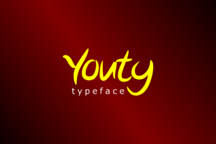 Youty Font By Bangrusd