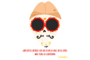 Cantinflas Skull Craft Design By Creative Fabrica Crafts