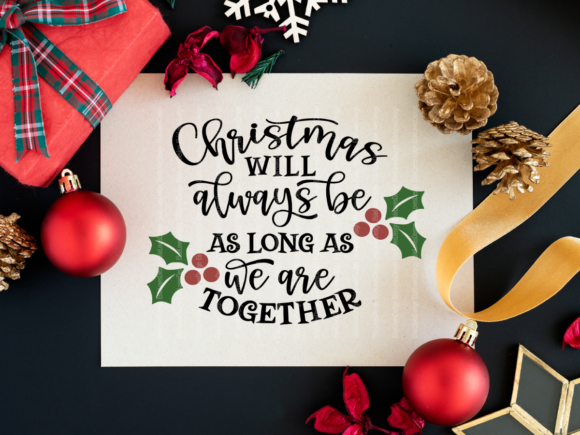 Download Free Holiday Christmas Bundle Graphic By Elsielovesdesign Creative for Cricut Explore, Silhouette and other cutting machines.