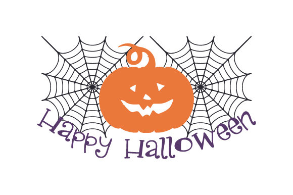 Happy Halloween Halloween Craft Cut File By Creative Fabrica Crafts - Image 1
