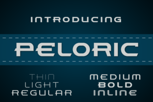 Peloric Font By TanveerType