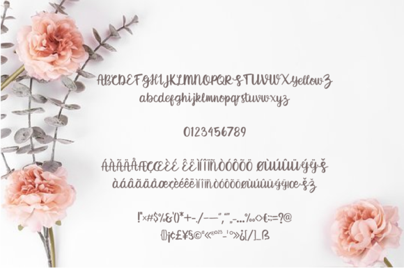 Print on Demand: Breethy Script & Handwritten Font By Typestory - Image 6