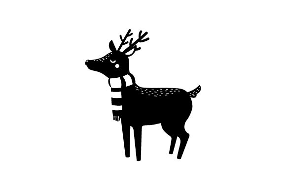 Download Free Christmas Deer Svg Cut File By Creative Fabrica Crafts for Cricut Explore, Silhouette and other cutting machines.