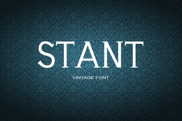 Print on Demand: Stant Serif Font By maxim.90.ivanov - Image 1