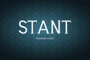 Stant Font By maxim.90.ivanov