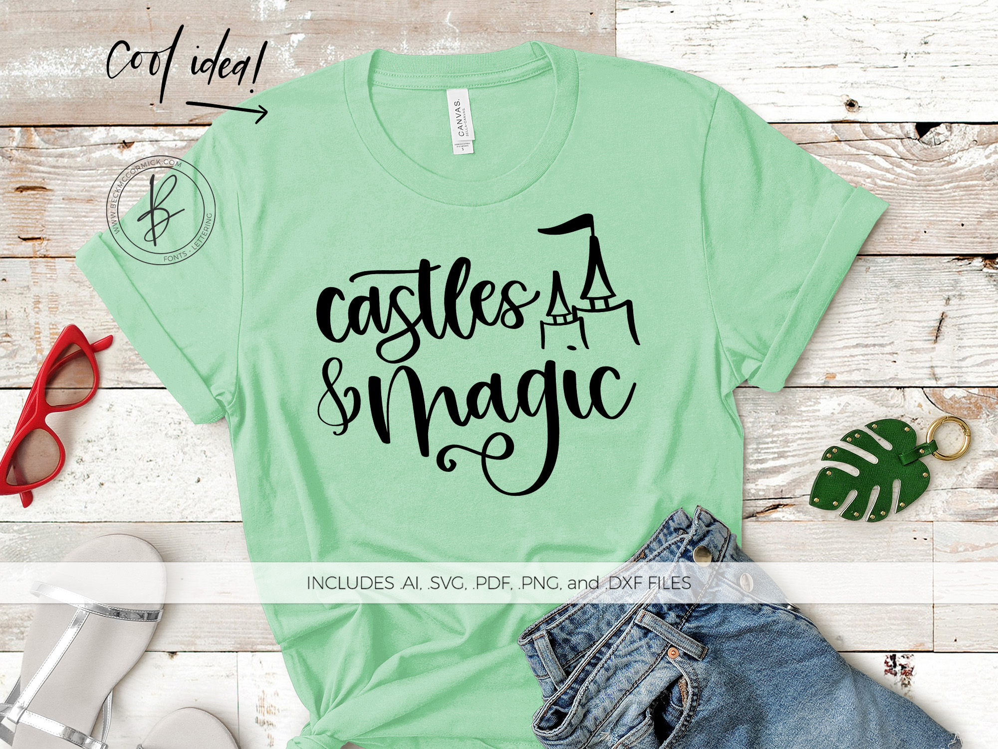 Download Free Castles And Magic Svg Graphic By Beckmccormick Creative Fabrica for Cricut Explore, Silhouette and other cutting machines.