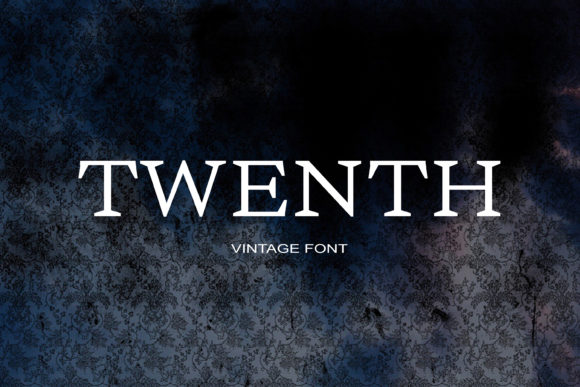 Print on Demand: Twenth Serif Font By maxim.90.ivanov