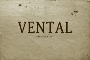 Vental Font By maxim.90.ivanov