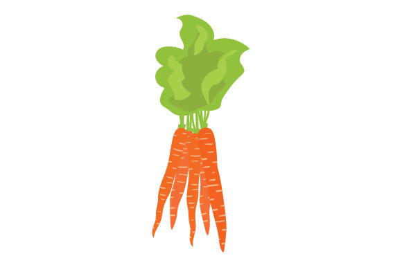 Bunch of Carrots Thanksgiving Craft Cut File By Creative Fabrica Crafts