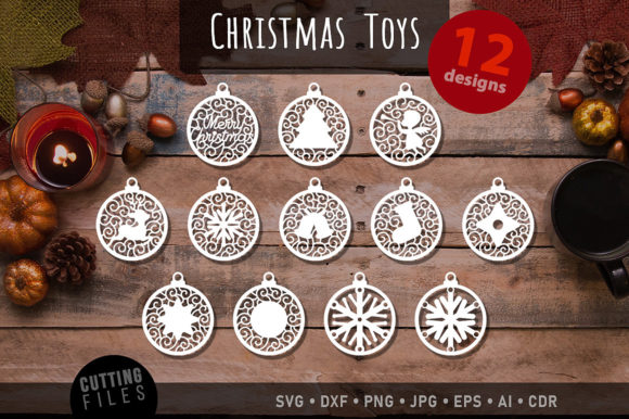 Christmas Tree Decoration Graphic Crafts By danieladoychinovashop - Image 1