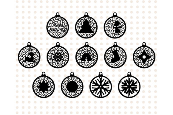 Christmas Tree Decoration Graphic Crafts By danieladoychinovashop - Image 2