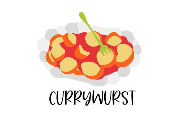 Download Free Currywurst Svg Cut File By Creative Fabrica Crafts Creative for Cricut Explore, Silhouette and other cutting machines.