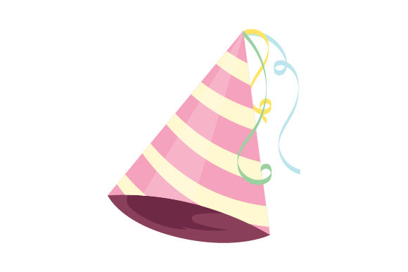 Party Hat Birthday Craft Cut File By Creative Fabrica Crafts