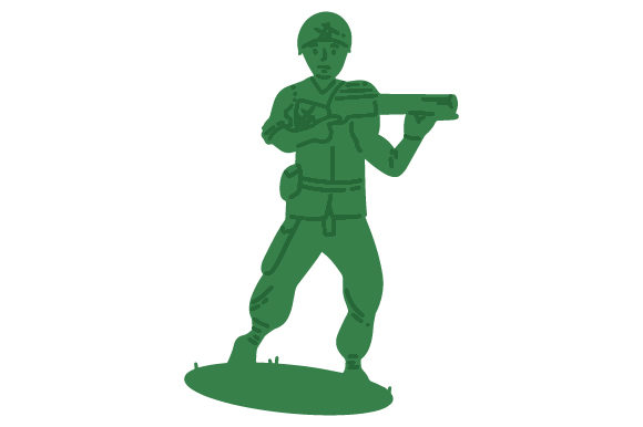 Download Free Plastic Soldier Svg Cut File By Creative Fabrica Crafts for Cricut Explore, Silhouette and other cutting machines.