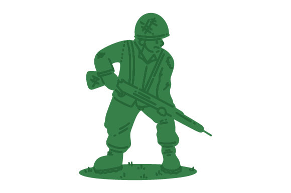 Download Free Plastic Soldier Svg Cut File By Creative Fabrica Crafts SVG Cut Files