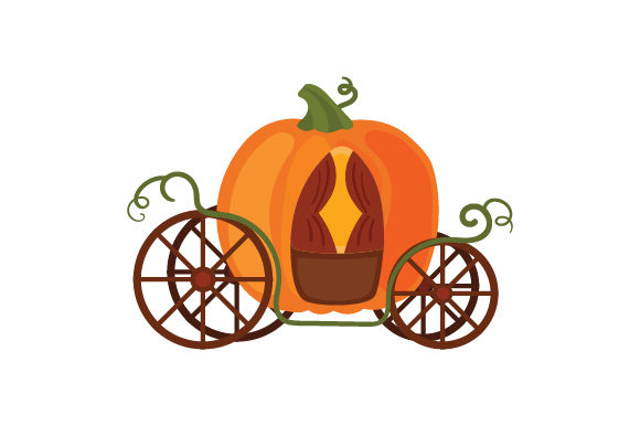 Download Free Pumpkin Carriage Svg Cut File By Creative Fabrica Crafts for Cricut Explore, Silhouette and other cutting machines.