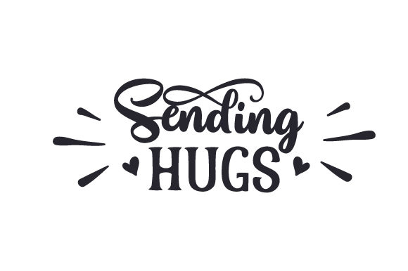 Download Free Sending Hugs Svg Cut File By Creative Fabrica Crafts Creative for Cricut Explore, Silhouette and other cutting machines.