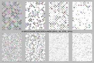 8 Colorful Brochure Backrounds Graphic By davidzydd