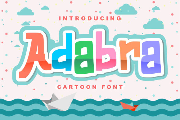 Print on Demand: Adabra Decorative Font By Vunira